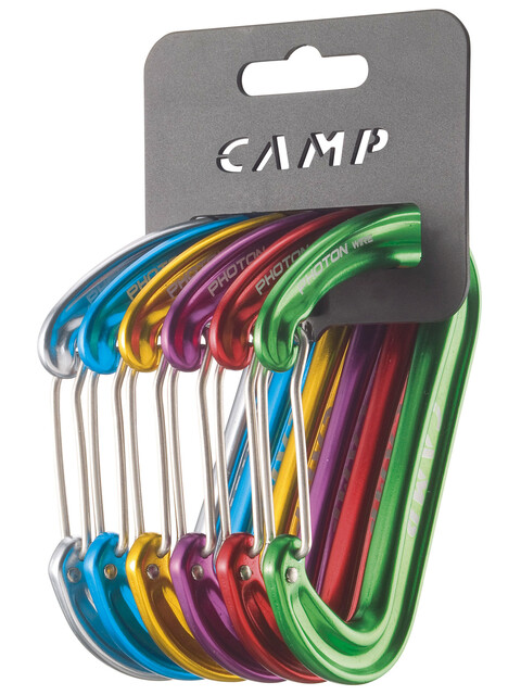 Camp Photon Wire Rack Pack Carabiners 6 Pcs